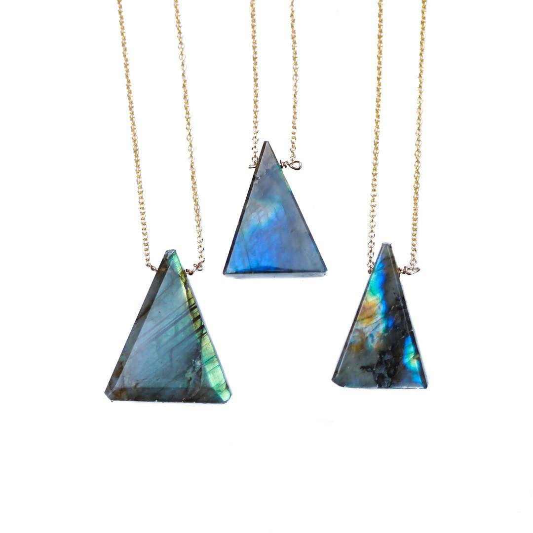 It's a party. Mother's Day is closing in, we have a HUGE event at Fort Mason next weekend and a promo code for the shop headed off this weekend!  Sign up for the email if you're looking for something nice and friendly in your mailbox!  #labradorite...