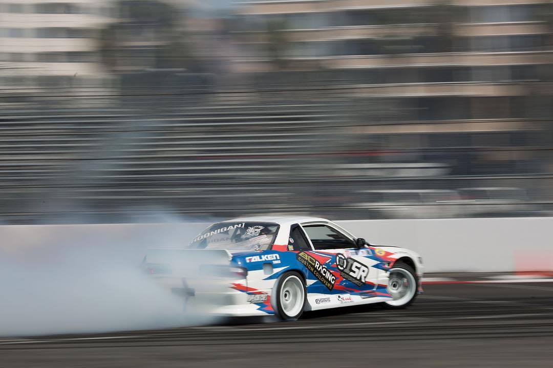 #tbt to Formula D Long Beach. Our dude @patgoodin's new setup, now with a blower, screams! #stopthehategetav8  _____