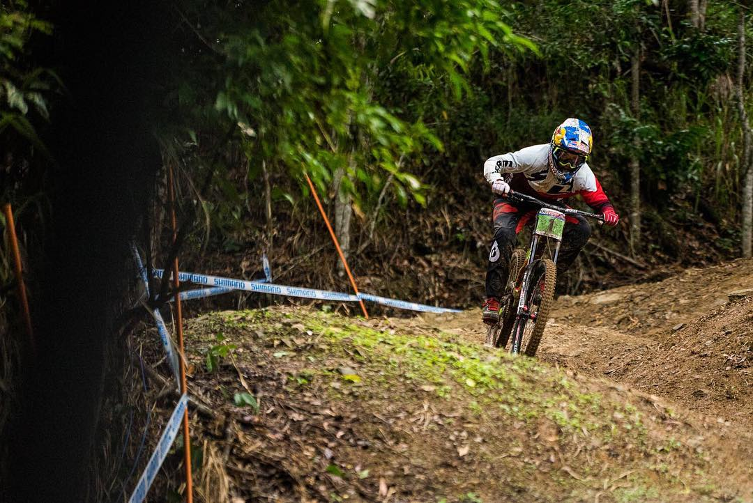 It's qualifying day over in Cairns! Best of luck @teamspecializedgravity #SixSixOne #661Protection #RageKnee #ProtectFun Photo - Matt DeLorme #CairnsWorldCup2016