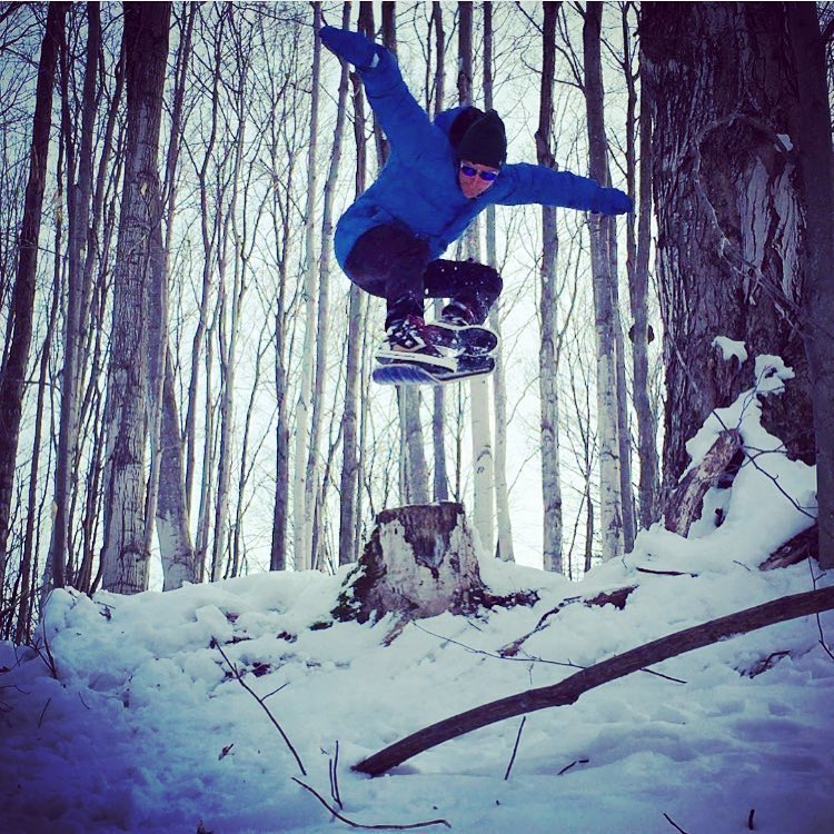 The amazing @smagical does things on boards and bikes  you wouldn't believe. Give him a follow! #A7CO #followthestoke #snowskate #liveactivated www.a-7.co