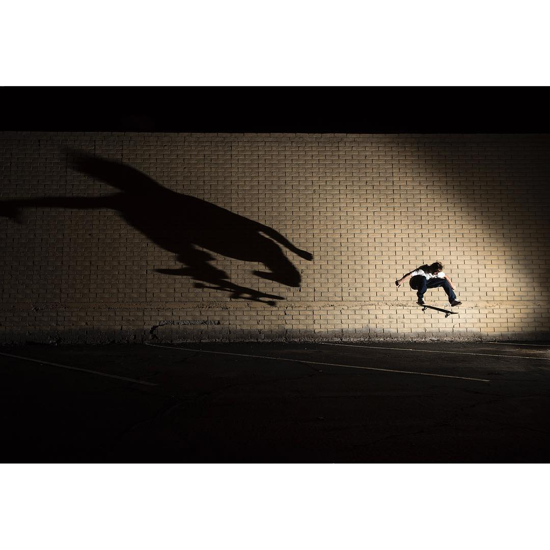 @carlosiqui lurking in the shadows during last night's session. Photo: @blabacphoto #CarlosIqui #DCShoes