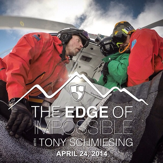 "Get ready to be inspired like never before on April 24, 2014 when ""The Edge of Impossible - with Tony Schmiesing"" video is released! Stay tuned to the @hi5sfoundation website for updates. #HighFivesAthlete"