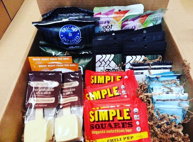 We are excited to have our products featured in @blissmo this month. Make sure to check out their subscription box that includes unique and tasty office snacks every month!