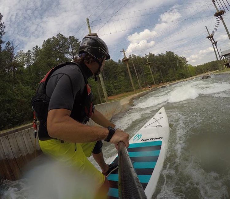 Anyone at the @usnwc for @usnwctuckfest this weekend?  Looking like a good weekend for it! #fullcut #deluxe @rivershred