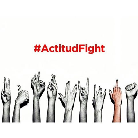 Todos con las manos arriba! VIERNES #actitudfight