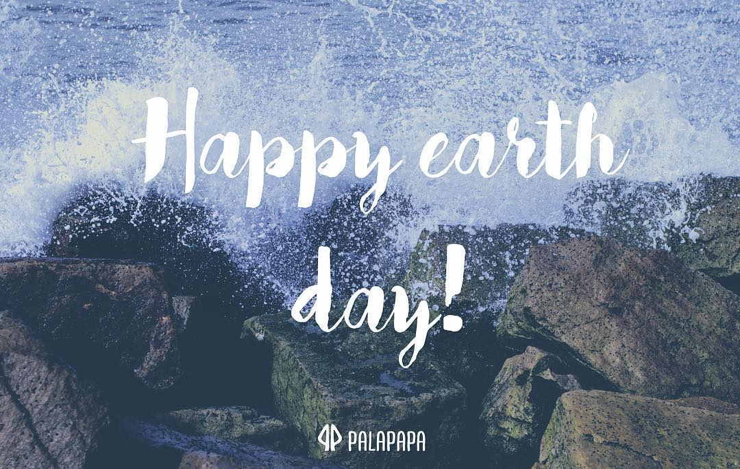 Mother earth speaks to you through every wave. Happy earth day! Let's take care of our planet, everybody can make a difference