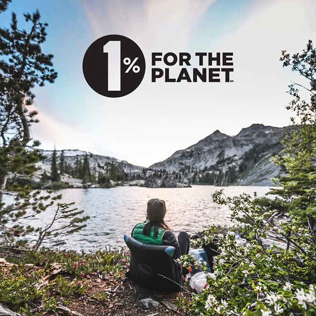 How are we celebrating Earth Day? First, we're going to give 1% of our revenue to environmental nonprofits. Yep, we're joining @1percentftp (1 Percent For The Planet) this year!  Pic: @rniederman taking a break in Desolation Wilderness. #peakdesign...