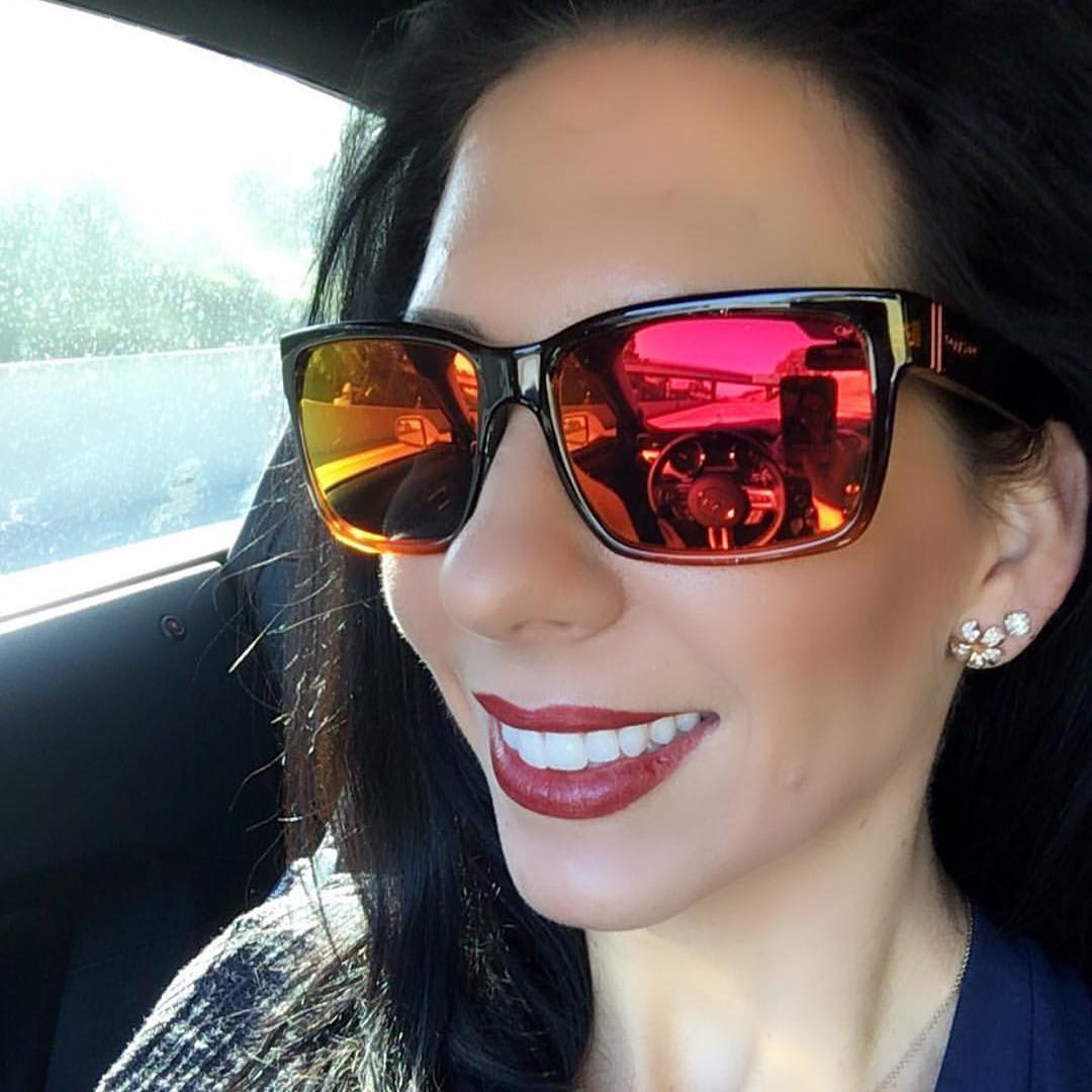 Our girl @bferron wins this #FanShotFriday in her #Elmore shades! You can win too! Just upload a shot of yourself wearing VZ gear and tag #VonZipper! #SupportWildLife