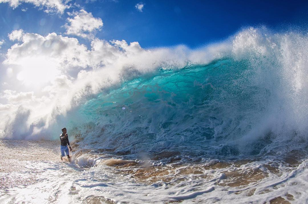 GoPro Featured Photographer: @tedfordmahiko  Aloha everybody my name is Tedford Mahiko and I live on the island of Oahu, Hawaii. I grew up on the North Shore up on Pupukea hill where I spent most of my days hitting the beach as much as I could on the...
