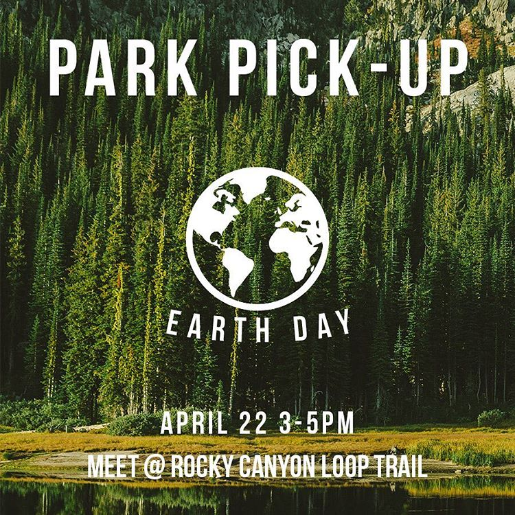 BOISE - Let's clean up! Meet us at Rocky Canyon Loop Trail for the 3rd Annual Earth Day Clean Up.  If you're into free stuff, make sure to follow our Snapchat (