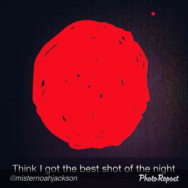 The camera on our #iPhone 6 demo is amazing! #BloodMoon #nofilter #thanksapple #awardwinningphotography #skateboarding