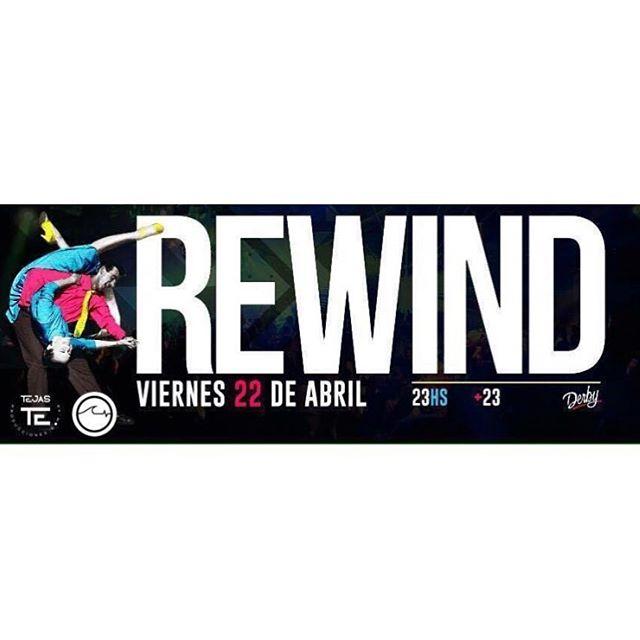 Hoy a la noche junto con @rewindfiestas y @derbysanisidro se viene un fiestón. Te esperamos con la mejor música de los 60 hasta la actualidad en Espacio Marquez, San Isidro. Entrar con lista @underwavebrand