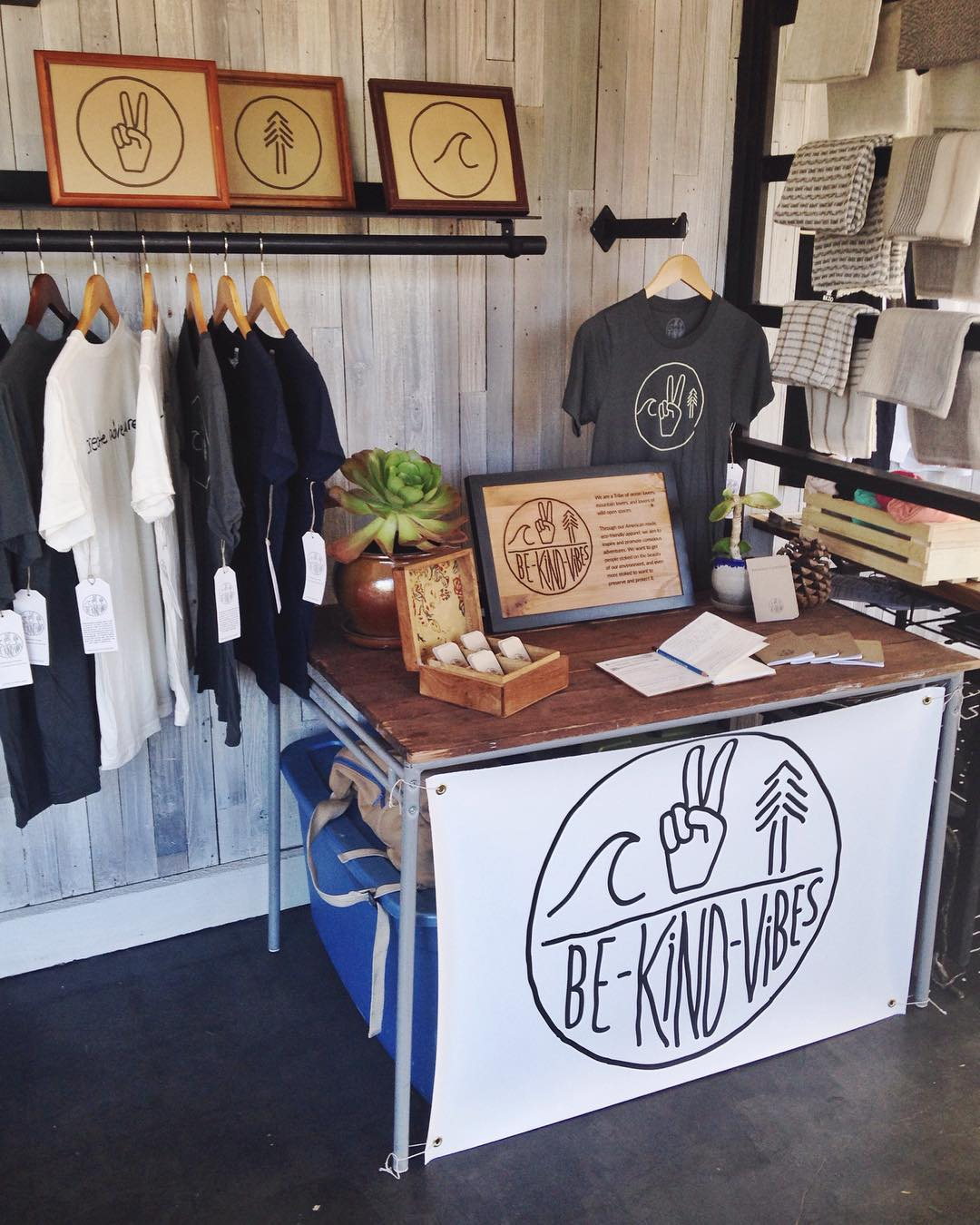 ~ Tribe Gathering ~  We're set up at @crowthief in South Park tonight for @fash_rev week! We're encouraging everyone to take a second and ask who makes their clothes, and where they come from.  The fashion industry is the third largest polluter in the...