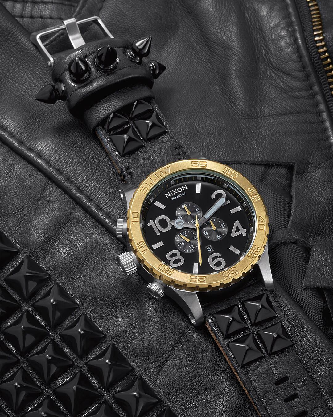 Own a piece of rock 'n roll history. The @slash #Nixon Rock LTD #5130 Chrono. Limited and now available.