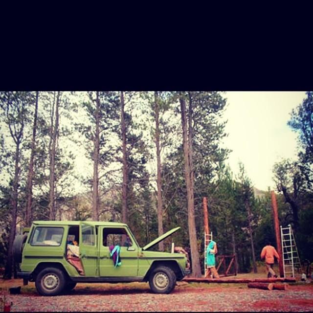 #juankcanale making things happen.  #mafiateam #goexplore #adventuremobile #creativestudio #patagonia #elbolson