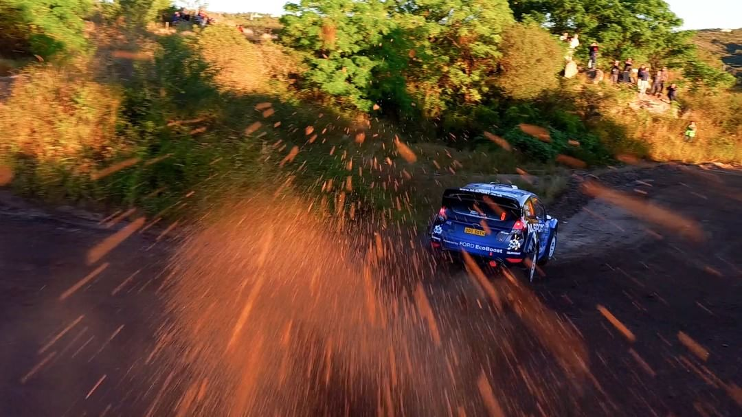 Feel every turn with #DJI @OfficialWRC @rallyargentina #DJIRally