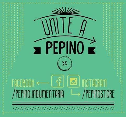 No te quedes afuera y formá parte de #Pepino  Seguinos!!!!