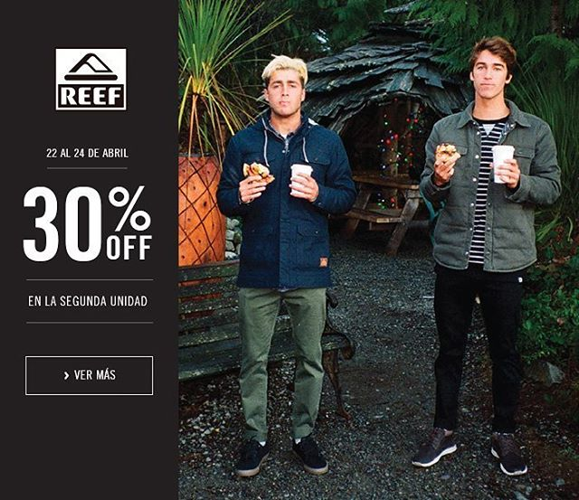 Tenes hasta el domingo para aprovechar el 30% OFF de la segunda unidad en la Tienda Online! #Reefargentina #Justpassingthrough // www.reef.com.ar