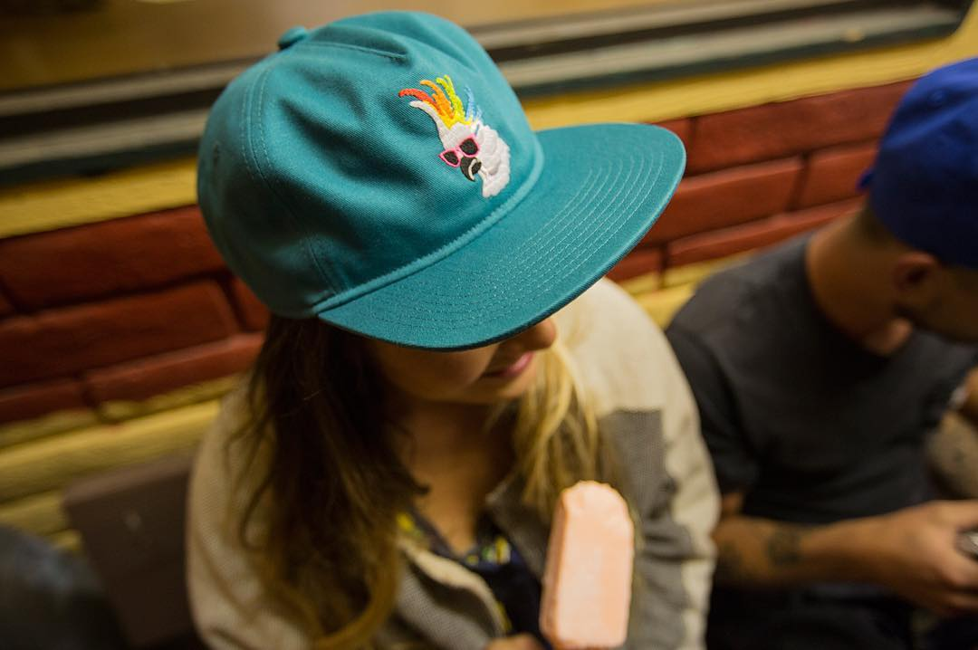 The Best Friend cap from our #Summer16 collection comes in a bird friendly color way, too!