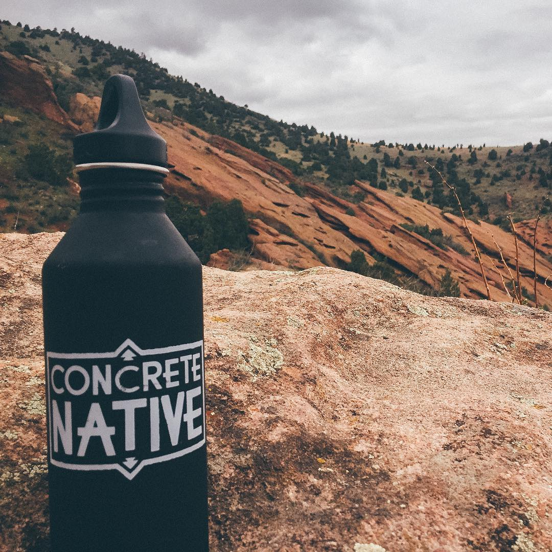 FREE WATER BOTTLE WITH EVERY PURCHASE THIS EARTH DAY WEEKEND! One of our missions at Concrete Native is to be a friend of the Earth. Get more info at concretenative.com/mission. In honor of this special day, we are going to give away a @mizulife water...