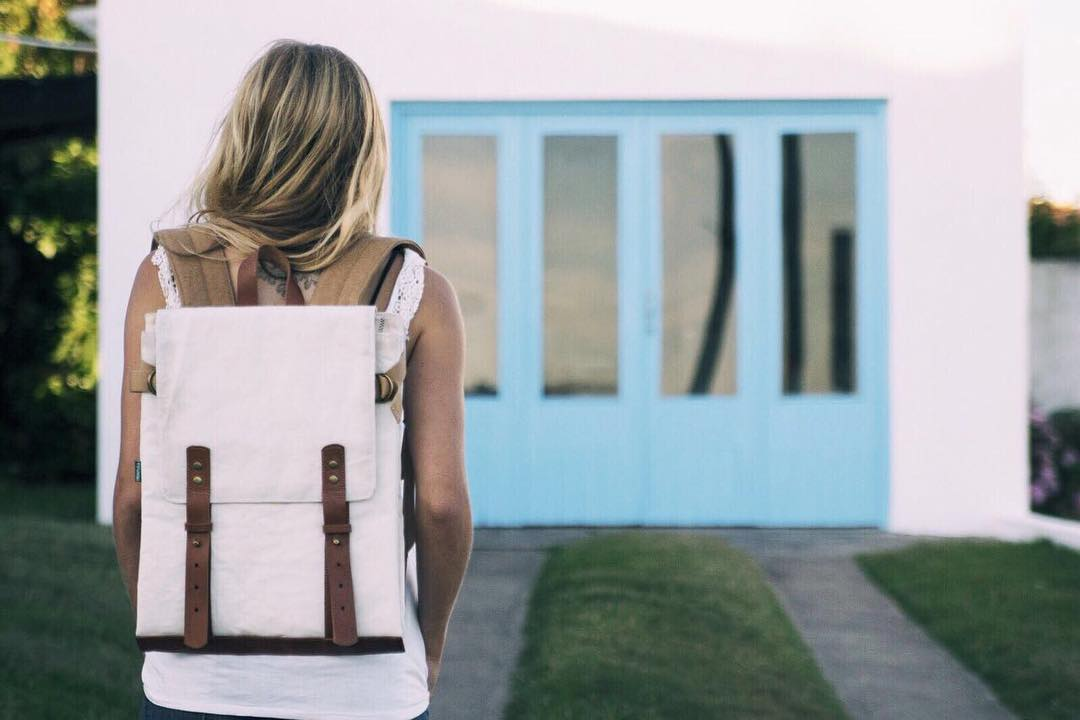 Proa Sailors®  Folding backpack, in stock. // Mochila desplegable, en stock.  Shop now » www.tinchoandlola.com