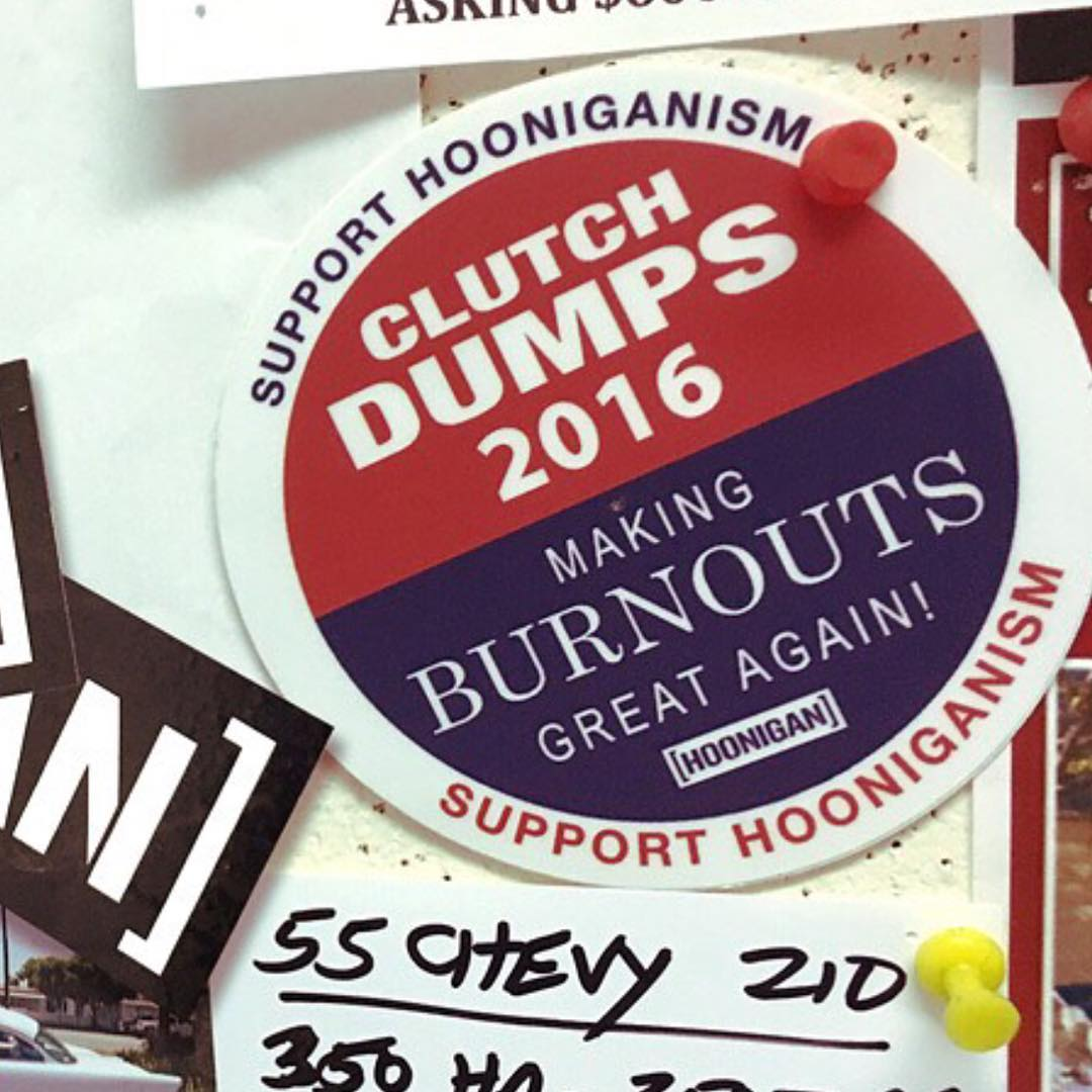 CLUTCH DUMPS 2016: We whipped up a small batch of these for our Loyalty Squad members. The only way to get one is to log in and grab something from our Fresh Baked section. You can't access it unless your logged in, so get the clickin....