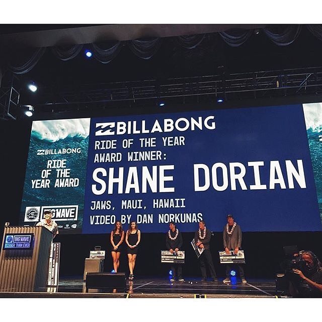Congrats @shanedorian ! You continually push the envelope and we love it! #billabongadventuredivision