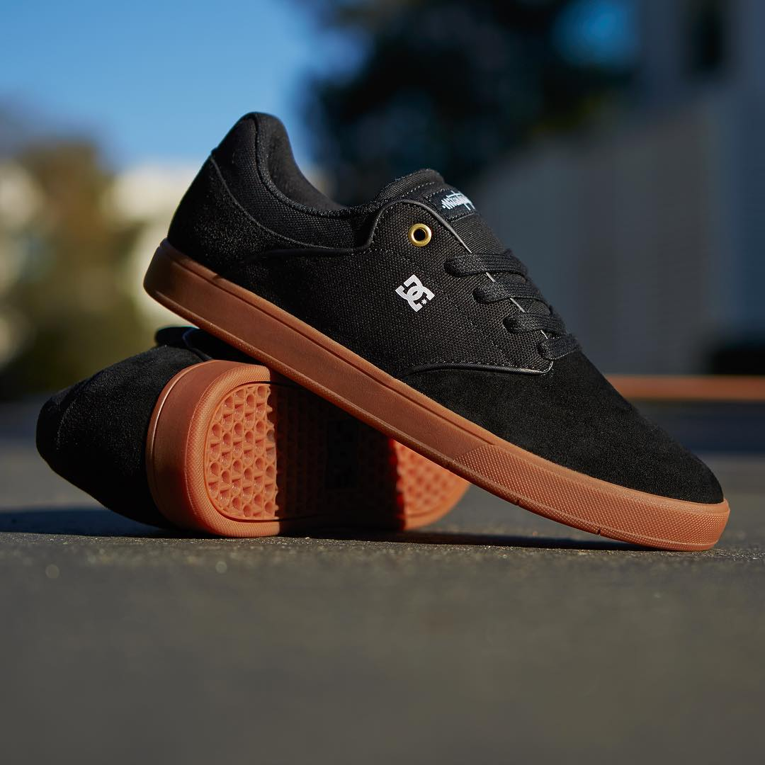 The classic Black/Gum colorway never gets old!  Get this new color of the @MikeyTaylor signature shoe, now available at skateshops everywhere and dcshoes.com. #dcshoes