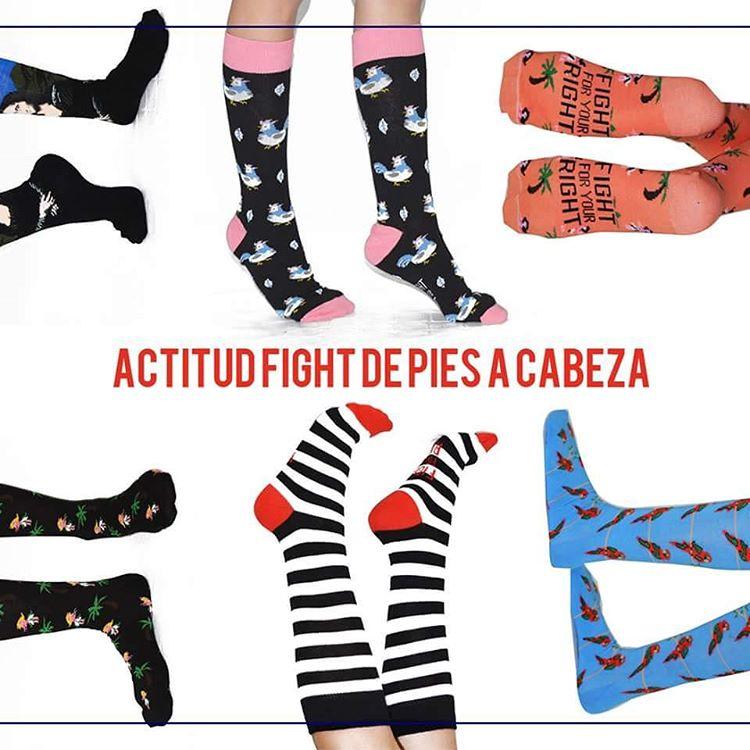 #actitudfight de pies a cabeza. Elegí tus próximas medias en www.casafight.com