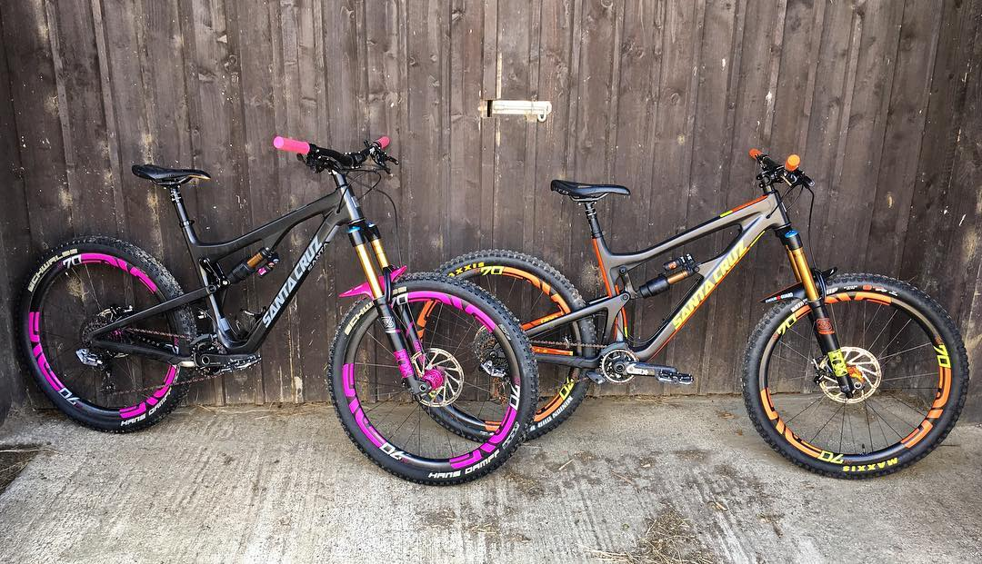 Always a good day when these two come out to play, it's been too long. @santacruzbicycles