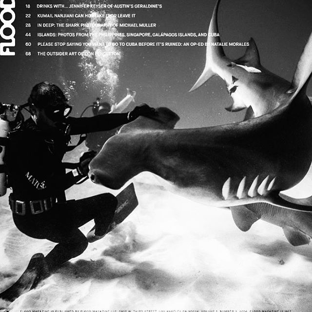 Big ups on a Sunday to Matuse Family Member, @michaelmuller7, for his forthcoming release via @taschenbooks, documenting some of the last living dinosaurs on the planet - as well as to @floodmagazine for their piece covering Mike. MM Dive suit coming...