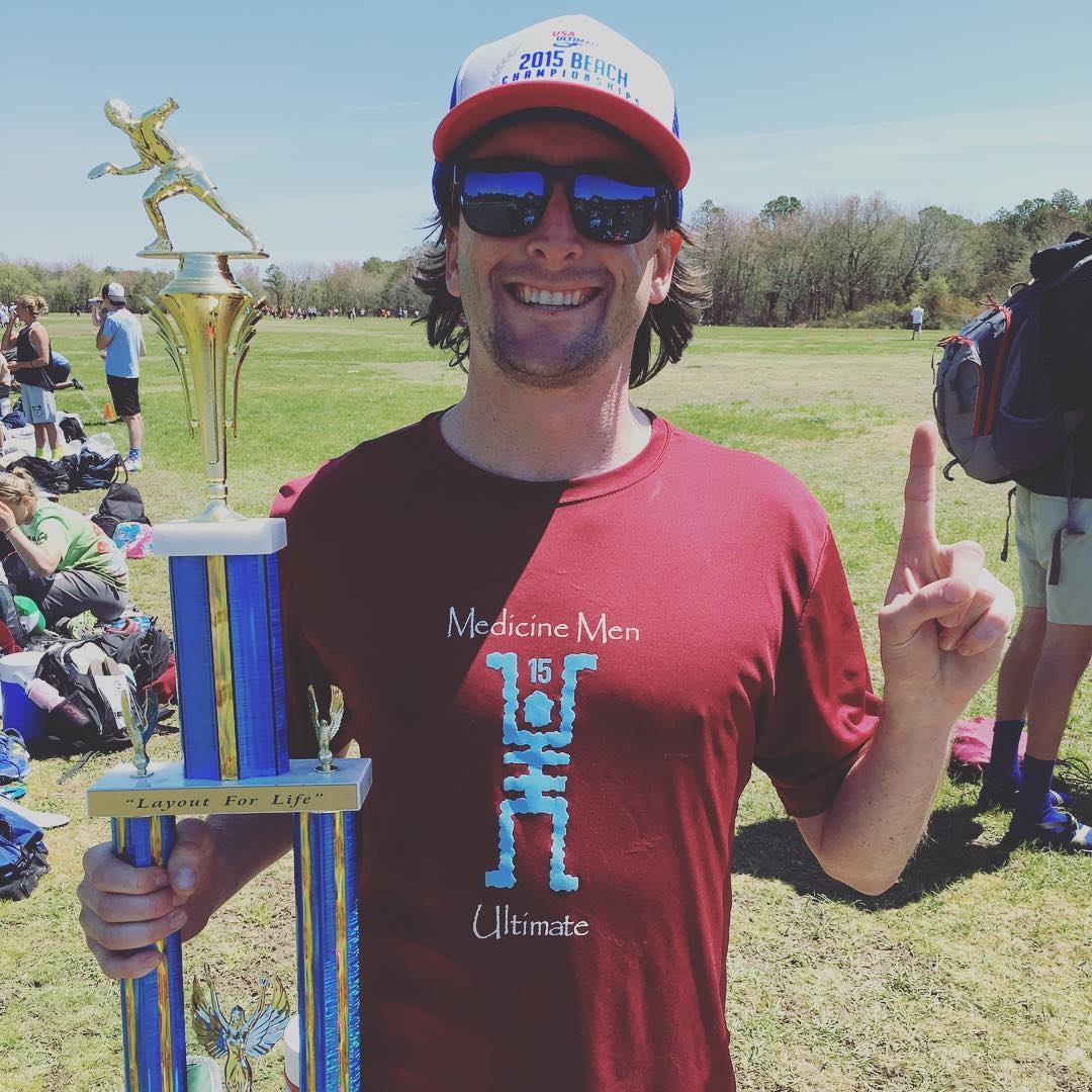 We won the Beth Coltman Memorial ultimate frisbee tournament #winningisfun #findthesun #waveborn #rehobeth #dewey #firstbeachweekendofthesummer