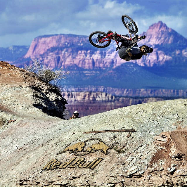 Red Bull #Rampage starts live in 20 minutes on Red Bull dotcom slash Rampage.