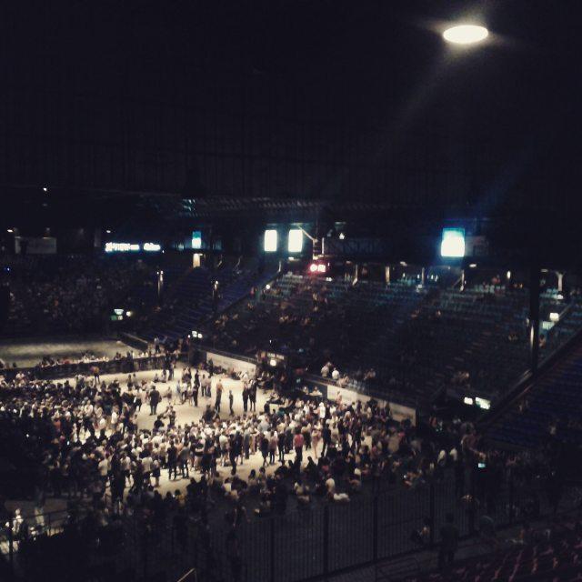 Mi primer concierto en el Luna el elegido morrisey #lunapark