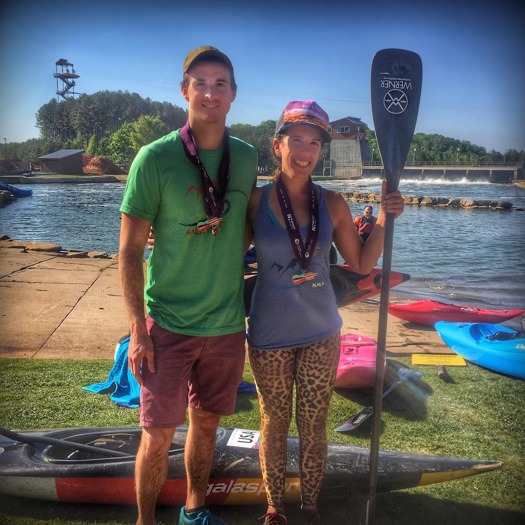 Congrats to Hala Gear athletes Richard Powell for placing 1st in SUP cross and Nadia Almuti for placing 1st in SUP enduro at @usnwctuckfest!! #halagear #surf #supracing #standuppaddle #supthemag #repostmysup #stand_up_paddle #paddle #standuppaddling...