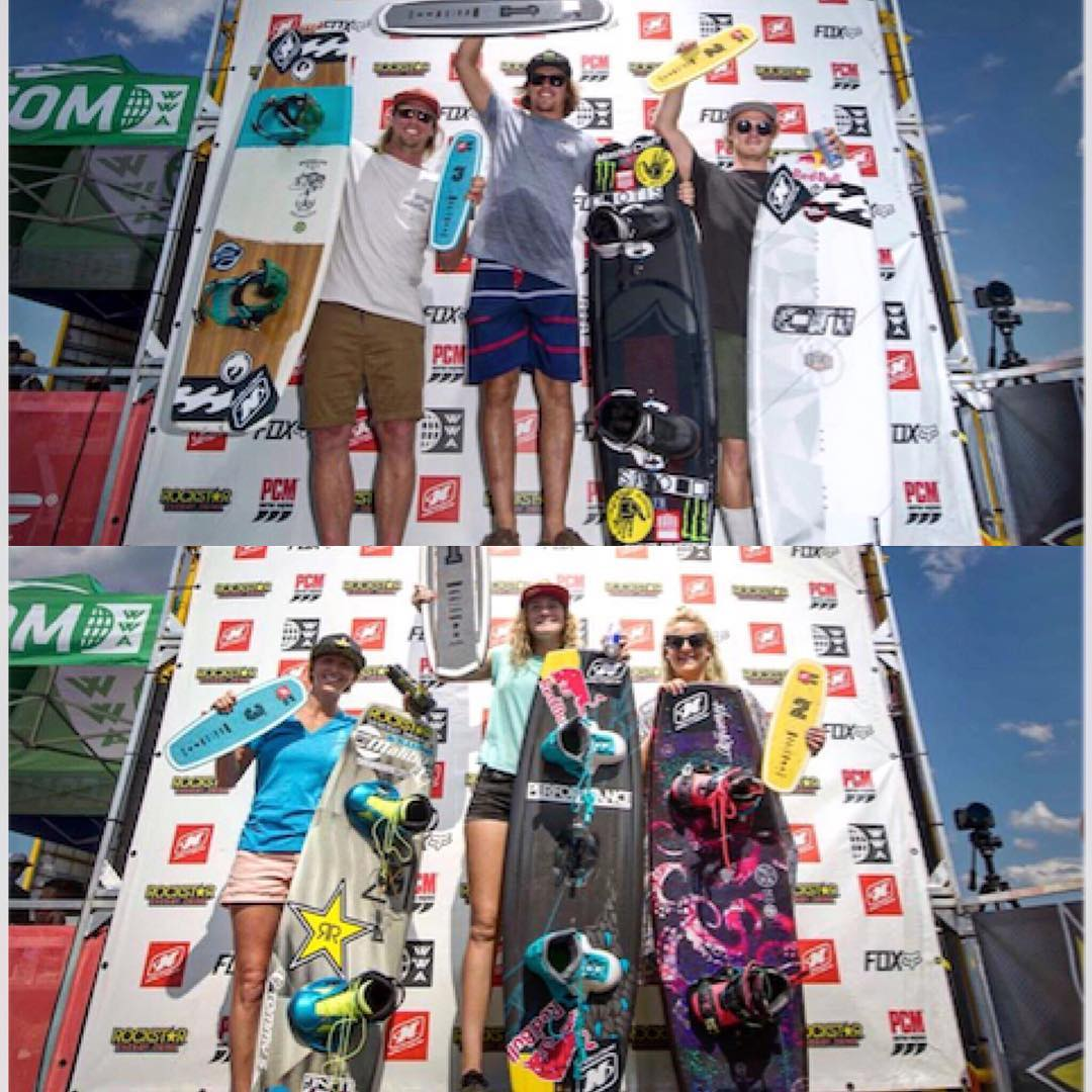 Big congratulations to @harleyclifford and @meaganethell for taking the win at The Wake Open this past weekend. #getusetoseeingthis #1stplace #liquidforce