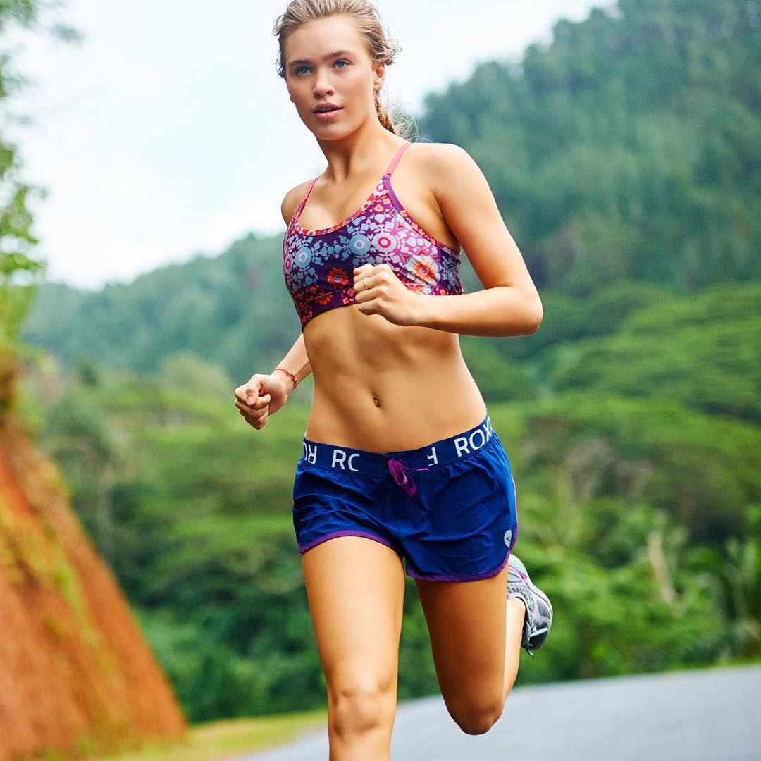 Take your run back to basics #ROXYfitness #MondayMotivation
