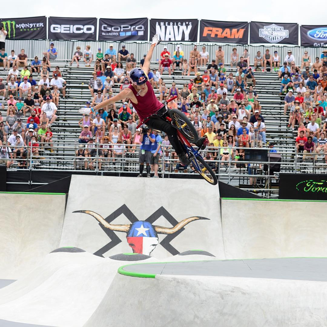 #XGames Austin BMX Invitees • @DrewBezanson • @DanielDhers • @TJEllis_ • @Chase_Hawk • @BMXDMC  Click the link on our profile page to check out the full list! (