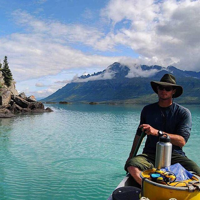 Meet #adventurescientist Kris Laurie. This week he will begin an epic #canoe journey from Montana's Brower's Spring, the source of the #MissouriRiver, to the #GulfofMexico, sampling for #ASCMicroplastics along the way.  We're stoked to have him on...