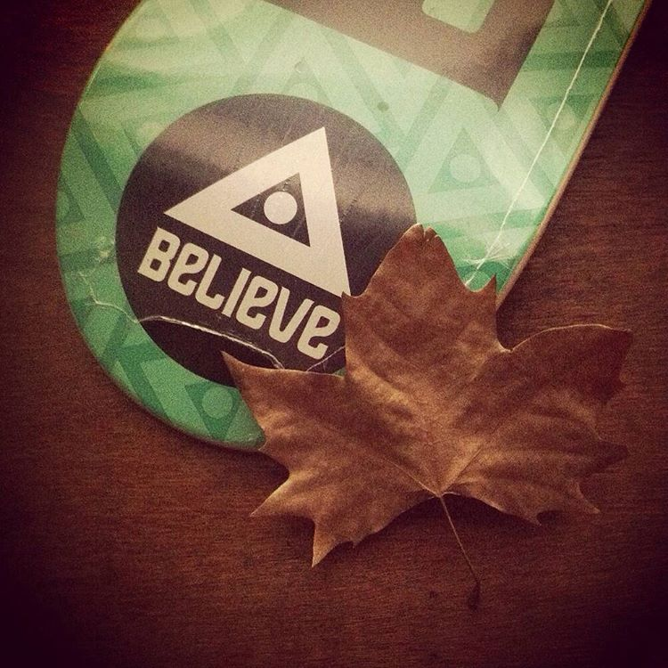 Maples de otoño #believeskateboards