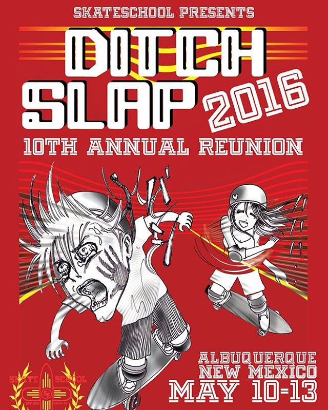 10th year of the ditch slap event!  Will you attend it?  All the informations here : www.ditchslap.com