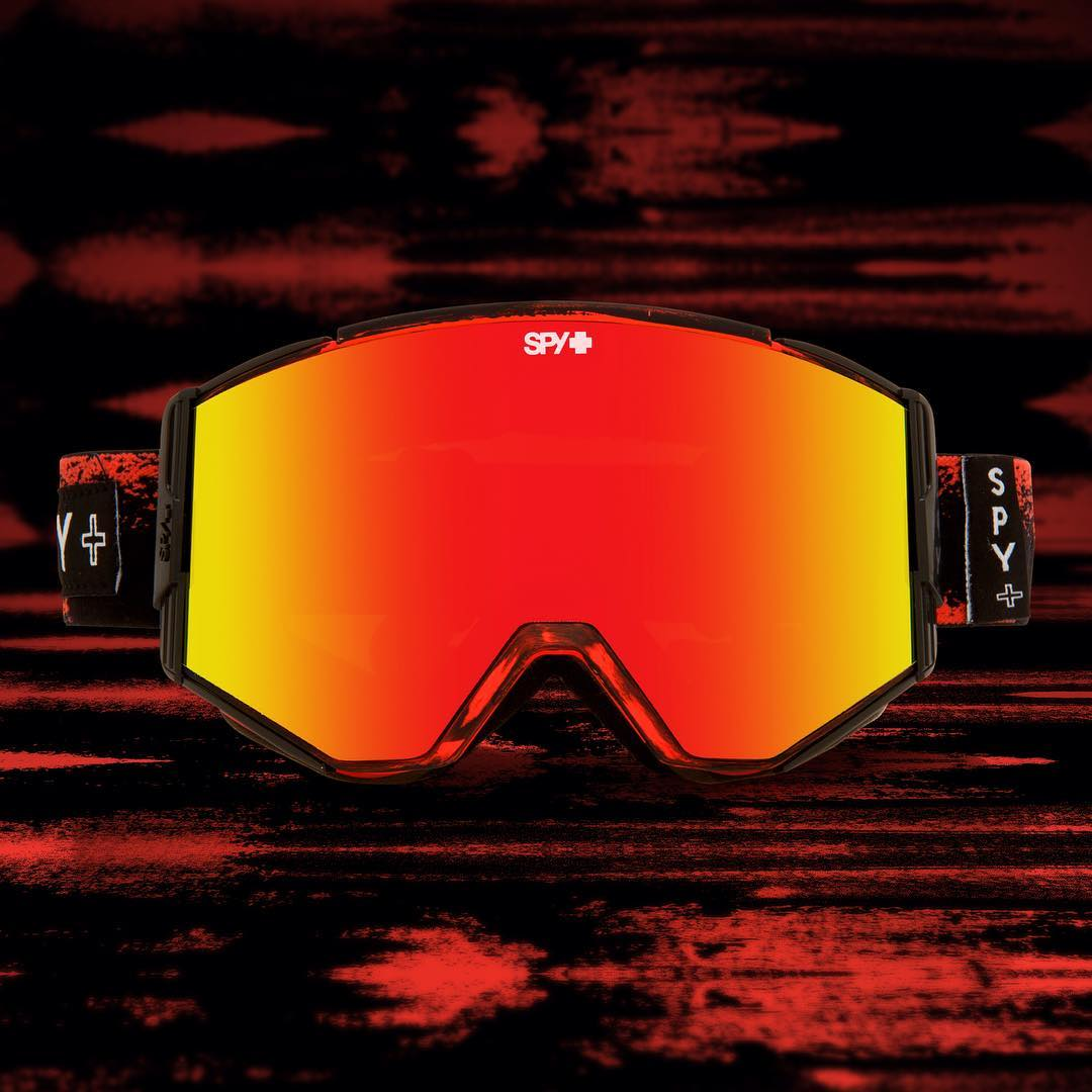 Masked out in masked red. #SEEHAPPY in the Ace snow goggle now through the link in the bio!
