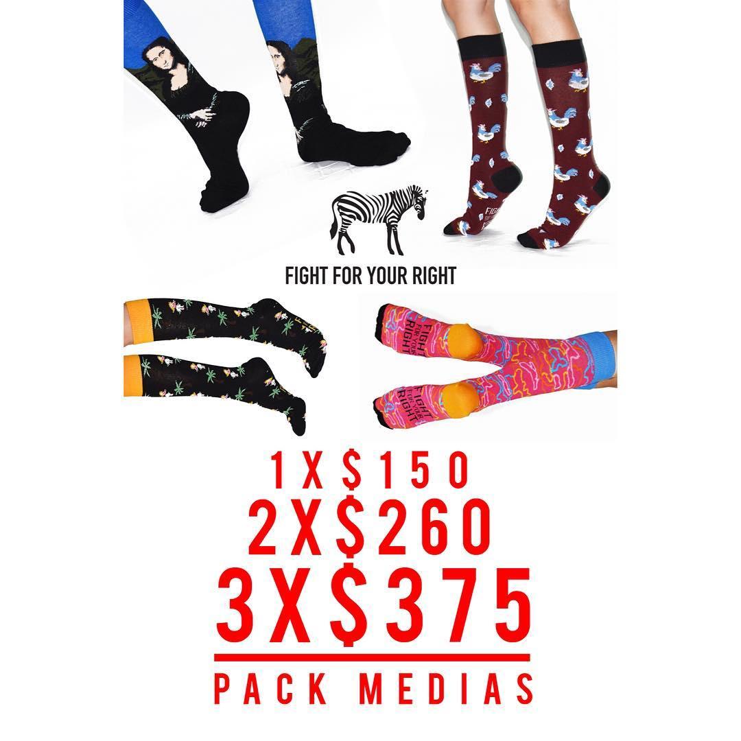Promoción lanzamiento de medias @fightforyourrightok por tiempo limitado! #actitudfight  www.casafight.com