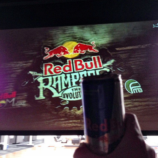 Here's to live streaming. #rampage redbull.com/rampage