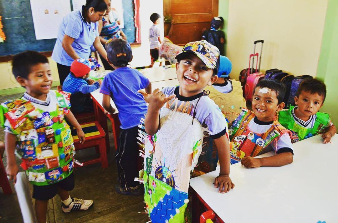 How did you celebrate Earth Day? Check out the Earth Day traditions happening at our chapter in Lobitos, Peru - Entire families create outfits and messages out of recycled material! Awesome! Want to learn how you can volunteer with local families like...