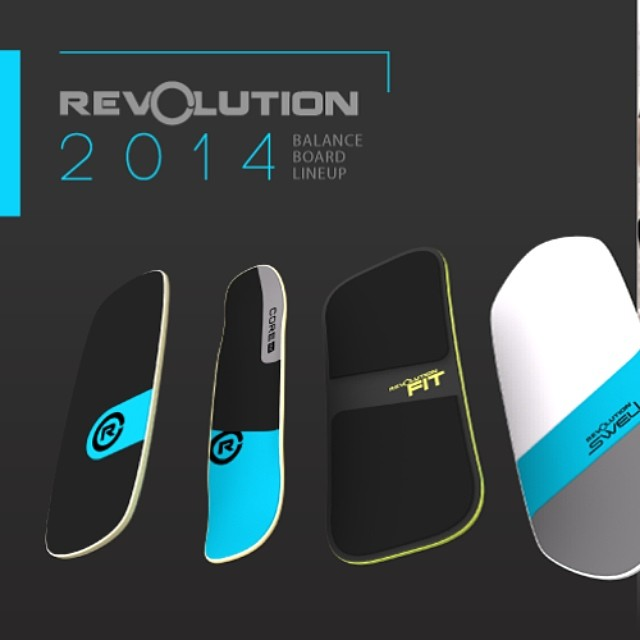 Check out all of the new 2014 balance boards on our website www.revbalance.com