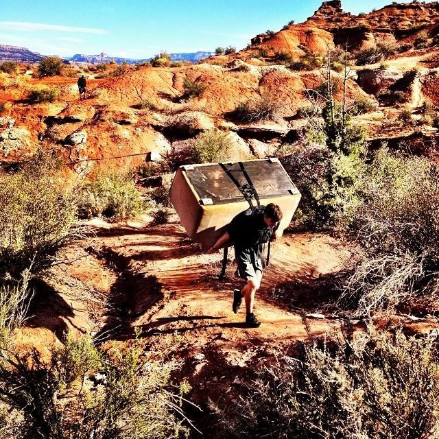 Red Bull #Rampage takes 'couch crashing' to a whole new level. redbull.com/rampage