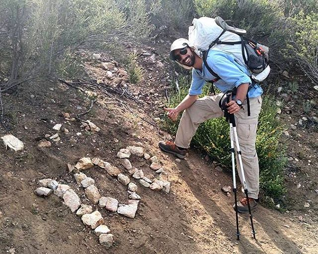 Dispatches from the trail: Matt's passed the 100 mile mark of the #PCT and has currently raised $3500 for SOS programs! Check out his #pledge #campain: https://goo.gl/kWcIGt