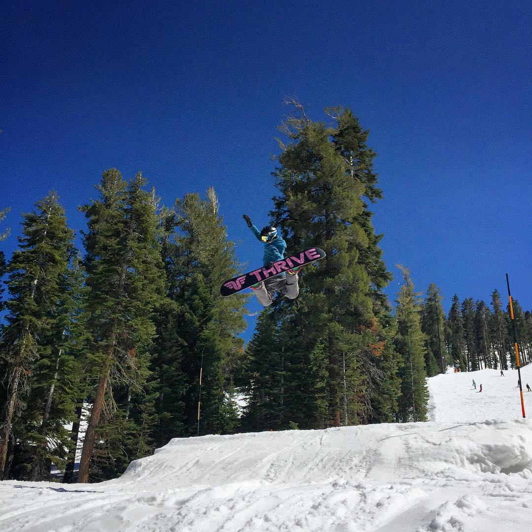 #girlsthatrip @ppppnut #methodair @northstarparks @skinorthstar #snowboarding #prestige #thrivesnowboards #sherides