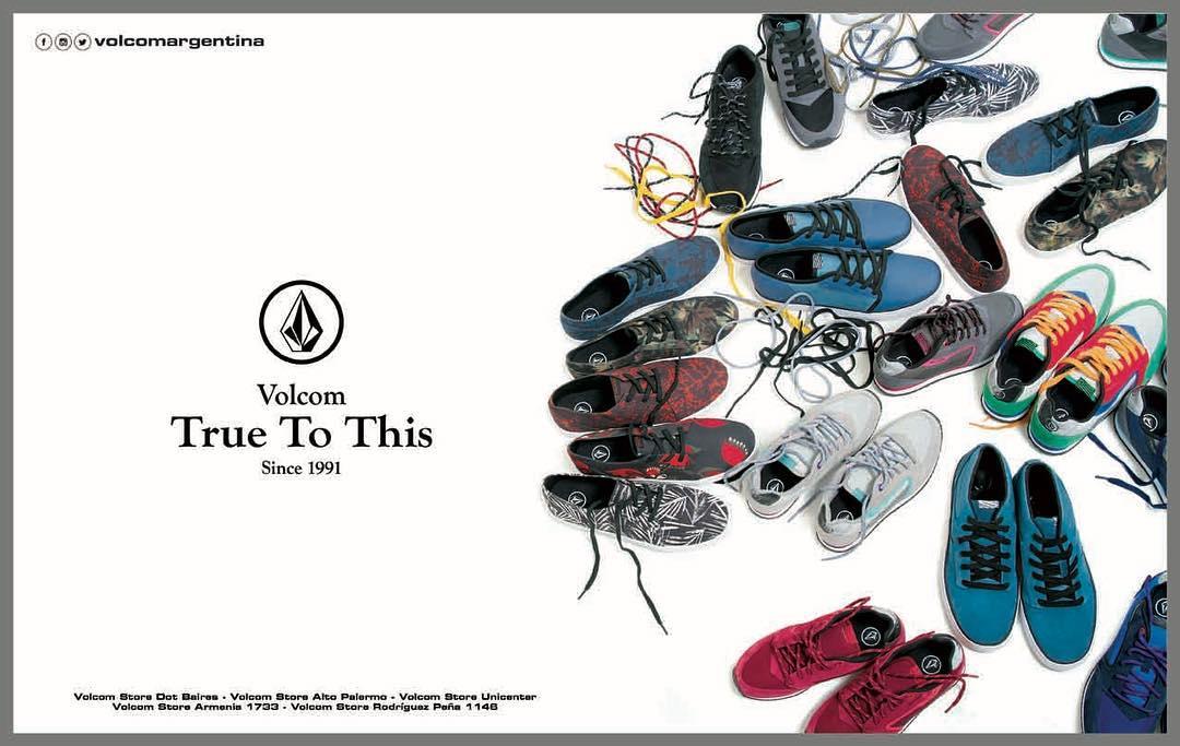 De apoco va  llegando la nueva colección #volcomfootwear estás listo? #truetothis #AW16